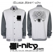 Good System College Grey Jacket - ULTIMO PEZZO!!!