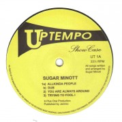 Sugar Minott - Uptempo Showcase