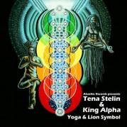 Tena Stelin & king Alpha - Yoga & Lion Symbol
