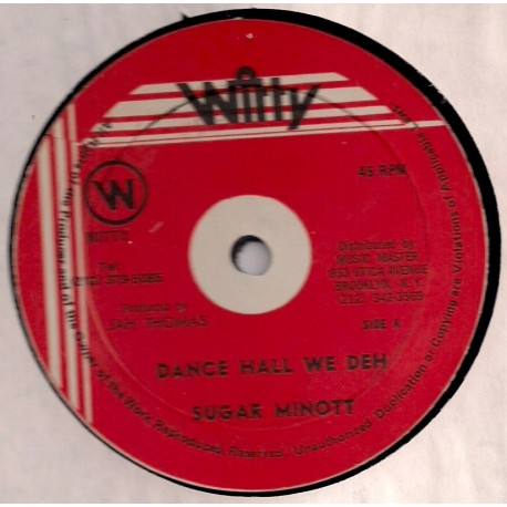 Sugar Minott - Dance Hall We Deh
