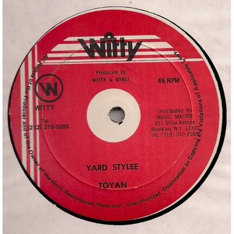 Toyan - Yard Stylee