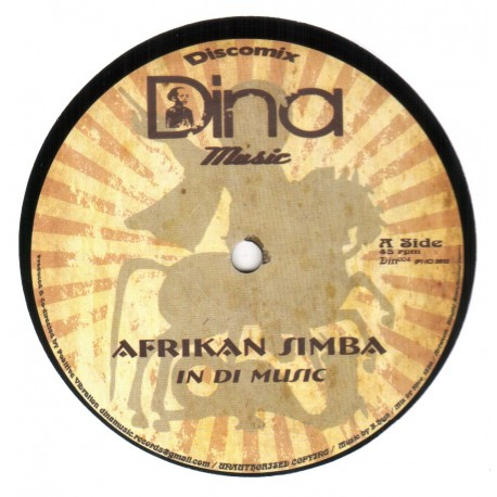 Afrikan Simba - In Di Music