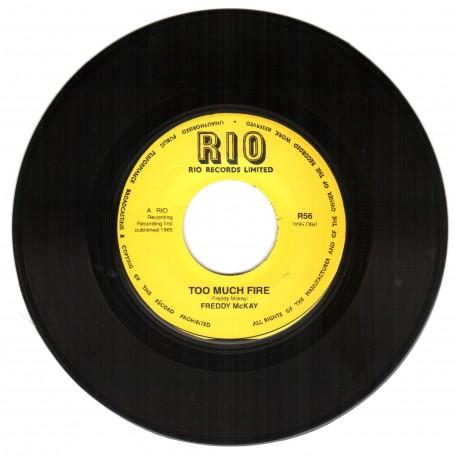 Freddie McKay - Too Much Fire