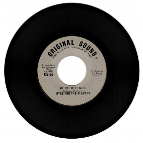Dyke And The Blazers - We Got More Soul *EX*