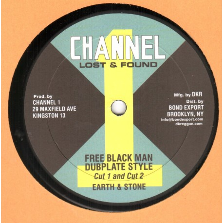 Earth & Stone - Free Black Man Dubplate Style