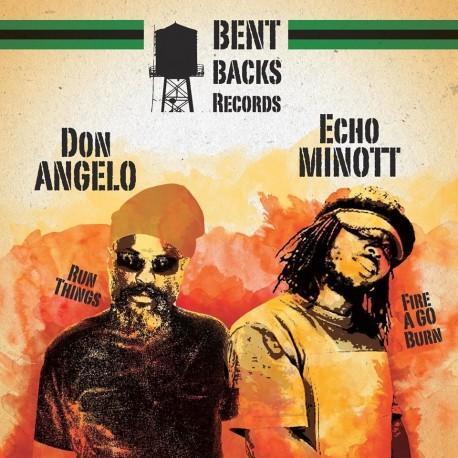 Echo Minott - Fire A Go Burn