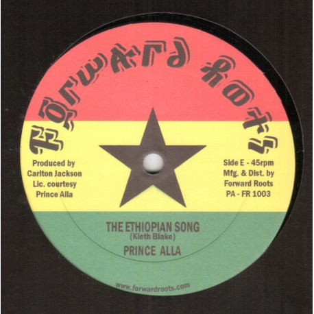 Prince Alla - The Ethiopian Song