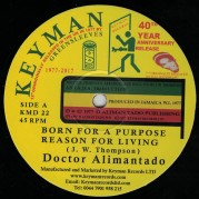 Doctor Alimantado - Born For A Purpose
