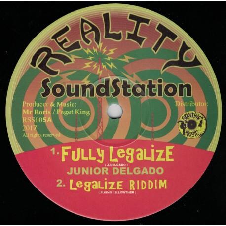 Junior Delgado - Fully Legalize