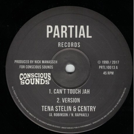 Tena Stelin & Centry - Can't Touch Jah
