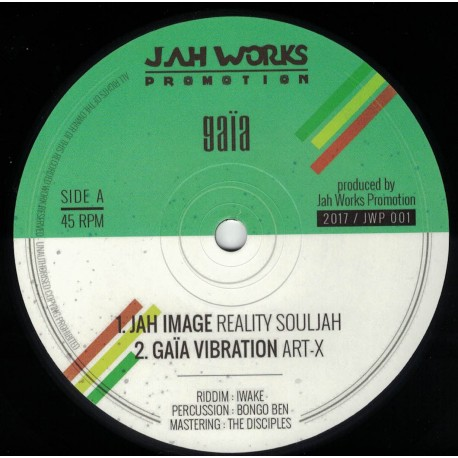Reality Souljah - Jah Image