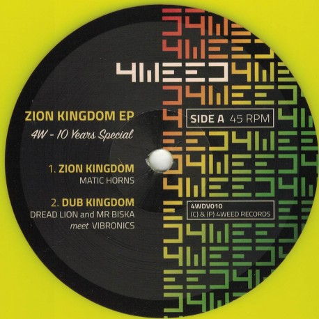 Matic Horns - Zion Kingdom