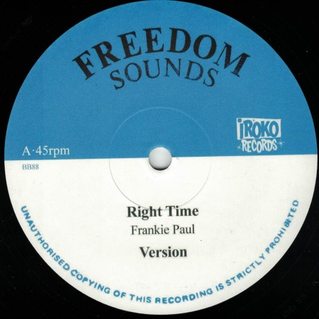 Frankie Paul - Right Time