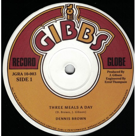 Dennis Brown - Three Meal A Day