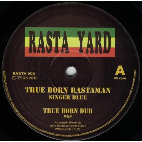 Singer Blue - True Born Rastaman