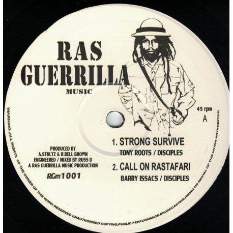 Tony Roots / Disciples - Strong Survive