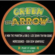 K Man The Phantom & Von D - Lick Down Tin Pan Sound
