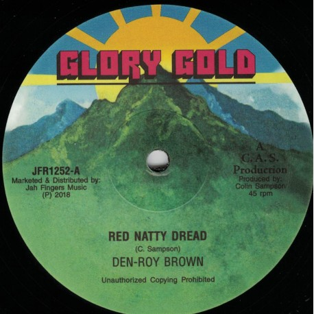 Den-Roy Brown - Red Natty Dread