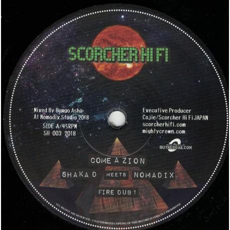 Shaka D meets Nomadix - Come A Zion