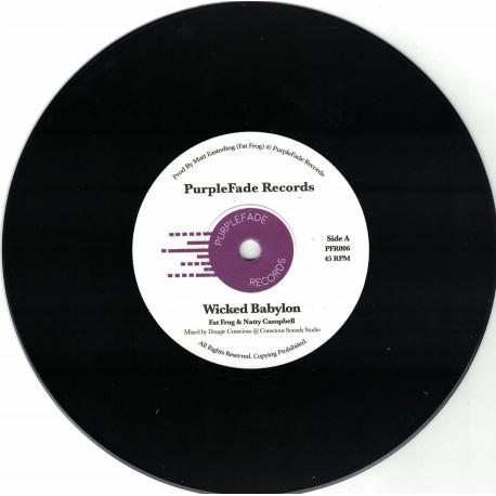 Fat Frog & Natty Campbell - Wicked Babylon