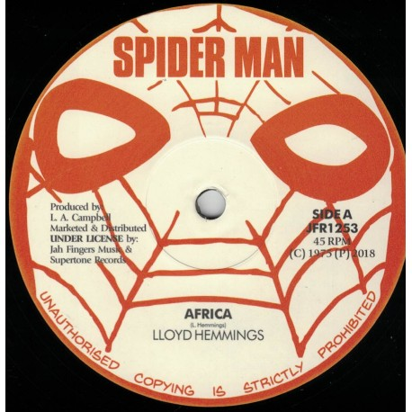 Lloyd Hemmings - Africa