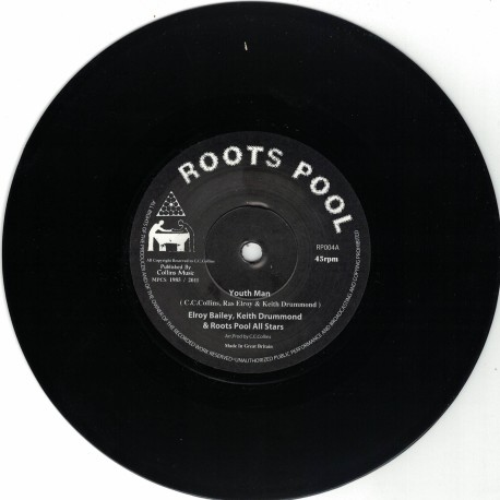 Elroy Bailey, Keith Drummond & Roots Pool All Stars - Youth Man