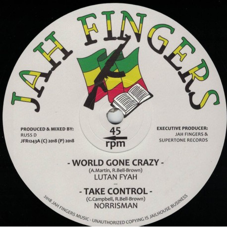 Lutan Fyah - World Gone Crazy