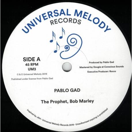 Pablo Gad - The Prophet, Bob Marley