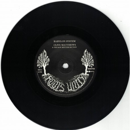 Clive Matthews & The Raw Rhythm Sections - Babylon System