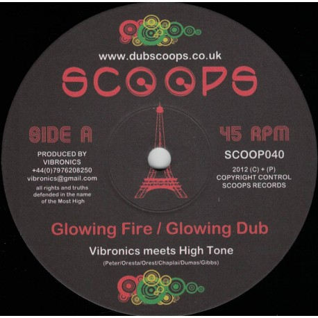 Vibronics meets High Tone - Glowing Fire
