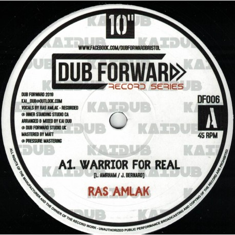 Ras Amlak - Warrior For Real