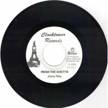 Jimmy Riley - From The Ghetto