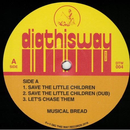 Musical Breed - Save The Little Children LP