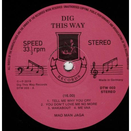 Mad Man Jaga - Wakabout LP