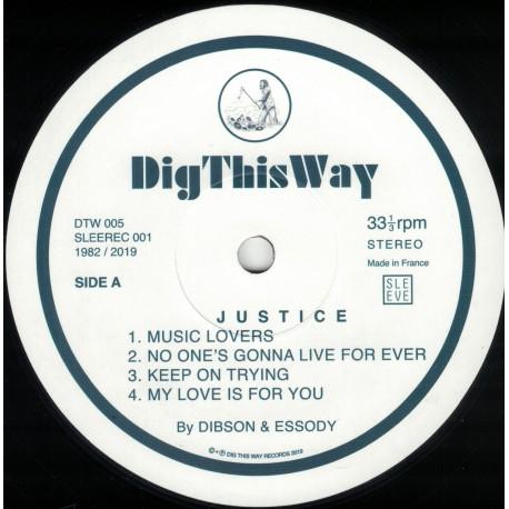 Dibson & Essody - Justice LP