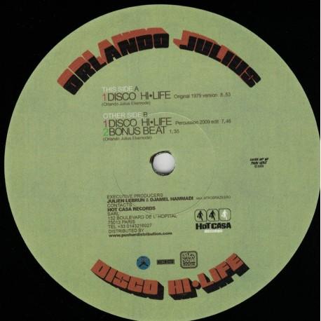 Orlando Julius - Disco Hi-Life