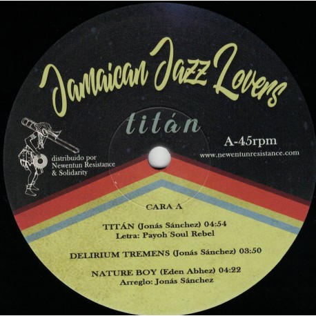 Jamaican Jazz Lovers - Titàn LP