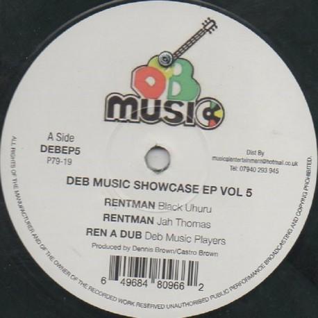 Black Uhuru - Rentaman (Deb Music Showcase EP vol.5)