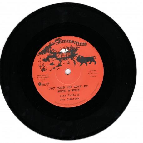 Gene Rondo & The Cimarons - You Said You Love Me More & More