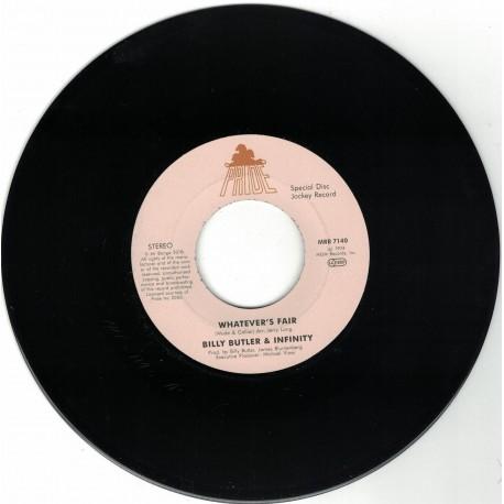 Billy Butler &nfinity - Whatever's Fair