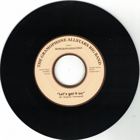 The Gramophone All Stars Big Band meets Robert Sanchez - Let's Get It On