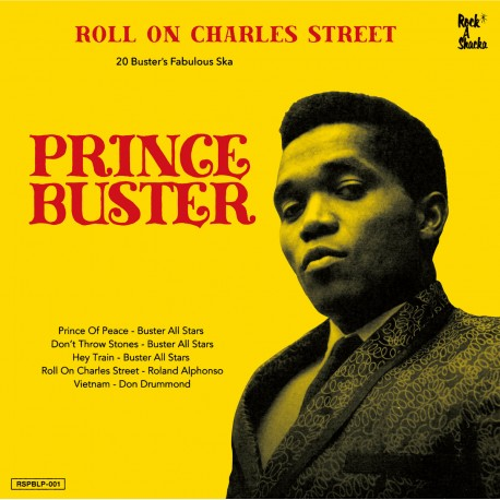 Prince Buster - Roll On Charles Street 2LP