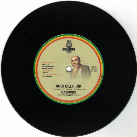 Ken Booth - When Will It End