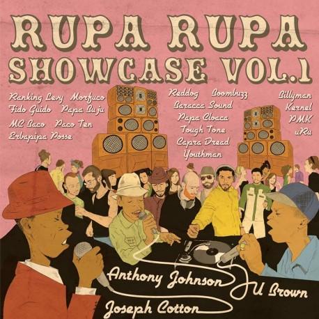 Rupa Rupa Showcase Vol.1 CD