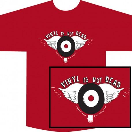 Vinyl Is Not Dead Tee  Woman