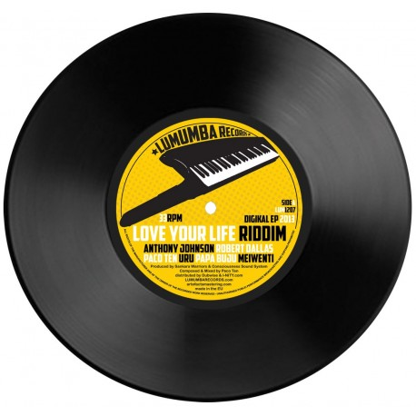 Lumumba Records Digikal EP 2013 - Love Your Life Riddim