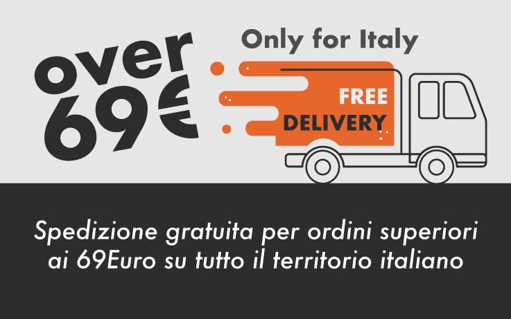 free delivery over 69€